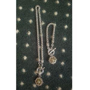 Brighton Bracelet and necklace
